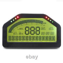 Affichage De Course De Tiret De Voiture Obd Bluetooh 7000rpm Tableau De Bord LCD Écran Indicateur Numérique
