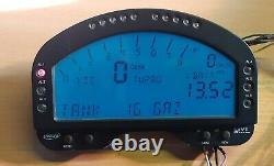 Aim MXL Strada Dash D'occasion À Vendre Voiture De Course LCD Instruments Led Tableau De Bord