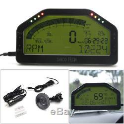 Car Race Dash Affichage Écran LCD Obd2 Bluetooth Élégant Tableau De Bord Numérique Gauge