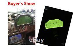 Course Dash Voiture Jauge D'affichage Sensor Kit Dashboard Écran LCD 9000rpm Gauge Rallye