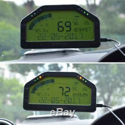 Course De Voiture Dash Affichage Obd2 Écran LCD Bluetooth Tableau De Bord Numérique Indicateur De Vitesse