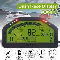Do904 Car Dash Race Display Bluetooth Capteur Tableau De Bord LCD Screen Rally D//
