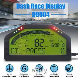 Do904 Voiture Dash Affichage Course Bluetooth Capteur Tableau De Bord Gauge Rallye De L'écran LCD