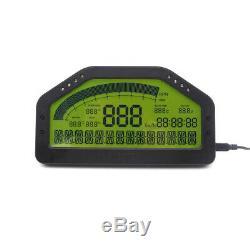 Do904 Voiture Dash Affichage De Course Bluetooth Capteur Tableau De Bord Écran LCD Rallys Gaug