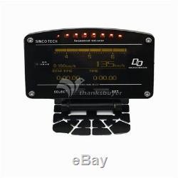 Do907 Rallye Race Car Dash Tableau De Bord Numérique Jauge D'affichage Mètre Pleine Capteur Kit