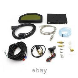 Do908 9000rpm Car Dash Race Display Rally Gauge Sensor Kit Tableau De Bord Écran LCD