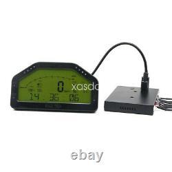 Do908 Car Race Dash Dashboard Écran LCD Full Gauge Capteur 10v-16v #top