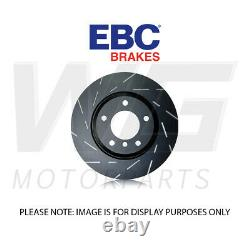 Ebc 295mm Ultimax Grooved Front Discs Pour Toyota Corolla 2.0 Td 2007-2013