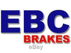 Ebc Turbo Groove Disques De Frein Arrière Gd1497 (fente, Sport)