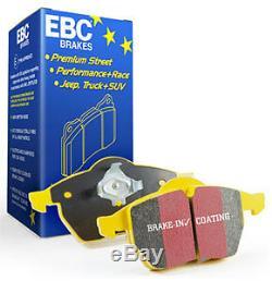 Ebc Yellowstuff Plaquettes De Frein Avant Dp41449r Pour M3 E90 / E92 / E93 4.0 V8 (piste)