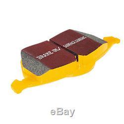 Ebc Yellowstuff Plaquettes De Frein Avant Pour Mitsubishi Lancer Evo 7 2.0t 0003 Dp41210r