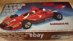 Kyosho Super Dash 1000 F1 Brabham Bt-45 1/8 Moteur Rc Racing Car Rouge