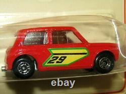 Matchbox Superfast No 29 Racing Mini-dot Dash Roues V Mib Rare Sur La Carte Du Canada