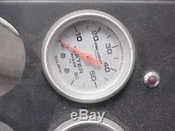 Nascar Race Dash Panel Voiture Avec Autometer Pro-comp Ultralite Jauges Yates