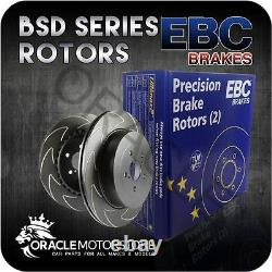 Nouveau Ebc Bsd Front Discs Paire Track / Race Braking Pads Oe Quality Bsd1201