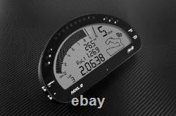 Objectif Mxl2 Car Motorcycle Bike Racing Dash Tableau De Bord Enregistreur De Données 1.3m Module Gps