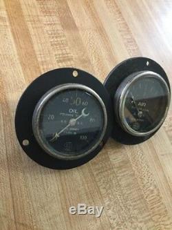 Old Speedster Race Prewar Gauge Voiture Hot Set Rat Rod Scta Vintage Instrument Dash