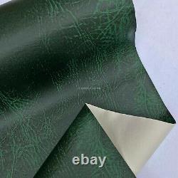 Racing Green Heavy Leather Jaguar Interior Dash Vinyl Fabric Sièges D'auto Rembourrés
