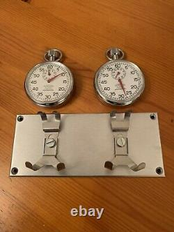 Rétro Rally / Race Dash Mounted Timer Panel Costume Historic Car, Speedster, 356