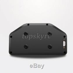 Sinco Tech Do908 Race Car Dash Dashboard Affichage LCD Full Gauge Sensor Kit 9-16v