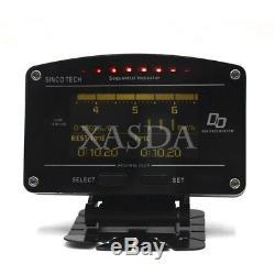 Sincotech Do907 Rallye Voiture De Course Dash Dashboard Compteur Jauge D'affichage Numérique Xa80