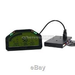 Sincotech Do908 Race Car Dash Plein Capteur Tableau De Bord Gauge Rally LCD USA Livraison