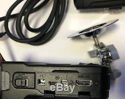 Sony Hxr-mc1 Hd Voiture De Police Vidéo Dash Casque Caméra 1080p 10x Zoom Racing