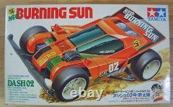 Tamiya Burning Sun Dash2 1/32 Racing Mini 4wd Series No. 34 Nouveau