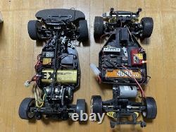 Tamiya Ta04s Racing Rc 1/10 Voiture Électrique38 Sanwa Dash Hitec Lynx Déplacement Travail