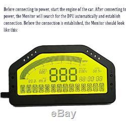Universal Car Dash Race Écran LCD Obd2 Bluetooth Dashboard Kit De Jauge Numérique